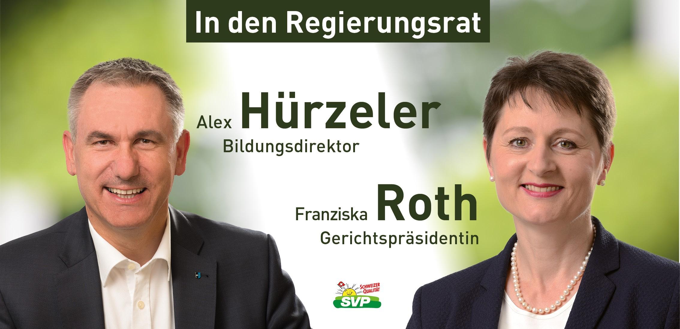 2 SVPler in die Aargauer Regierung